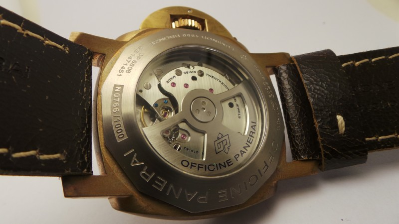 replique montre Panerai Luminor Submersible Movement